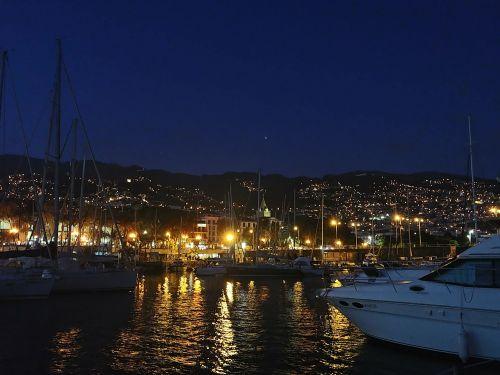 Abendstimmung in Funchal