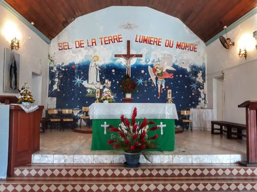 Altarraum der Eglise de Terre-de-Haut