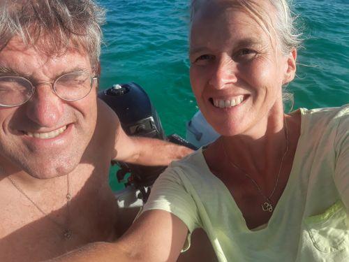 Island Cruising mit dem Dinghi