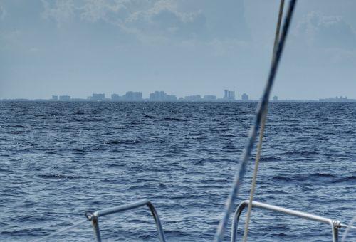 West Palm Beach kommt in Sicht - das Ende unserer Reise