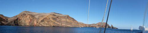 Ankerbucht Baia d' Abra im Osten Madeiras