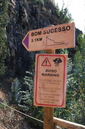 300 Höhenmeter auf 3,1km bergab