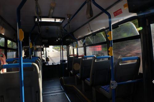 Bus fahren auf Madeira - nichts für schwache Nerven