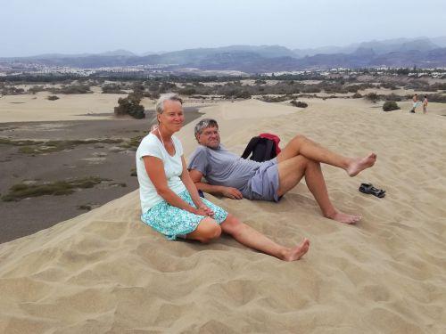 Auf den Dünen