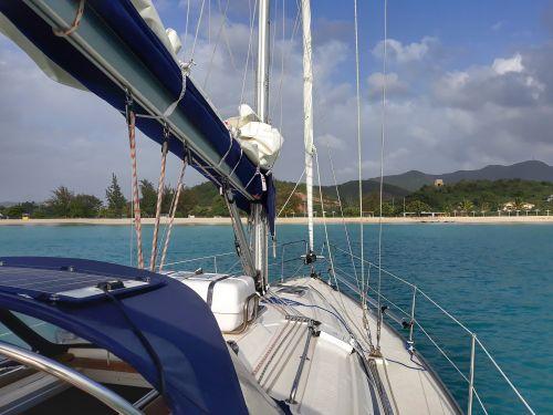 Landfall in Fryes Bay auf Antigua